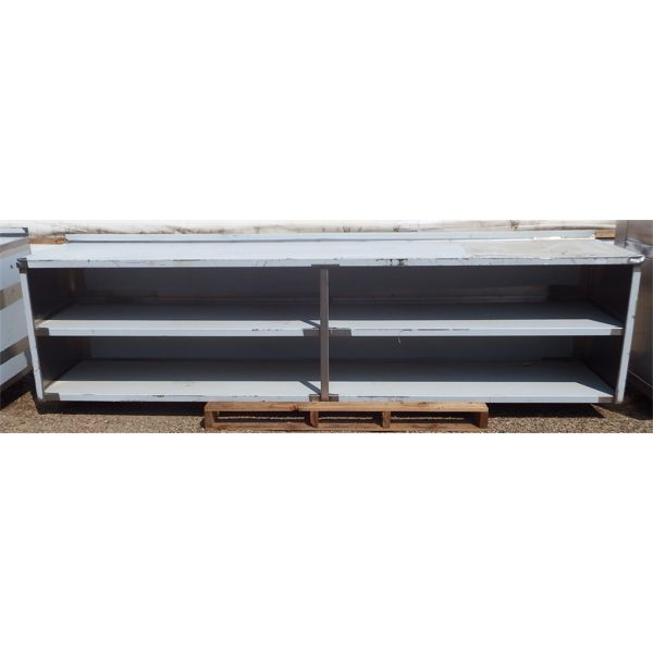 Used 123''x24'' Stainless Steel Custom Made Counter