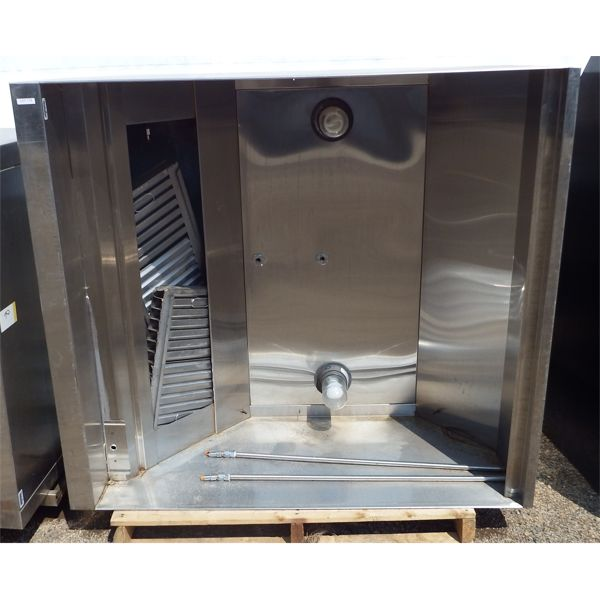 Used 54''x48''x24''H SS Grease Hood