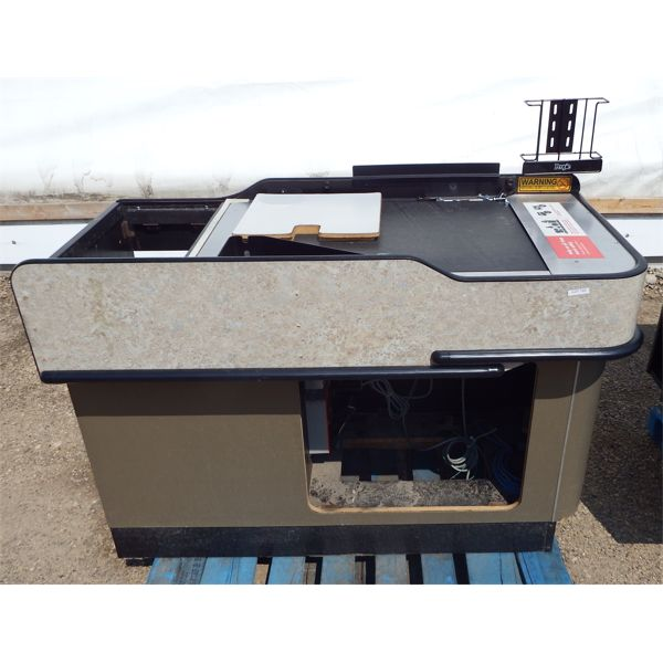 One Grocery Store Till Setup with Conveyor, Includes Power Box