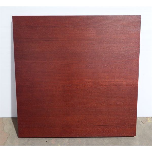 New Wood Table Top 30''X30'' Color#  Mohagany