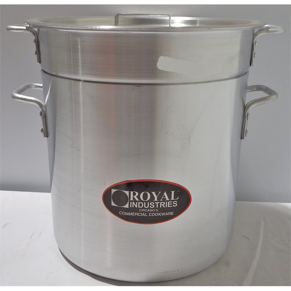 New 20 Qt Double Boiler With Lid
