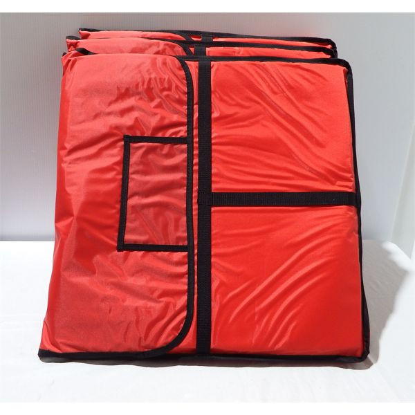 """Lot of 3 Insulated Pizza Bags 24"""" x 24"""""""
