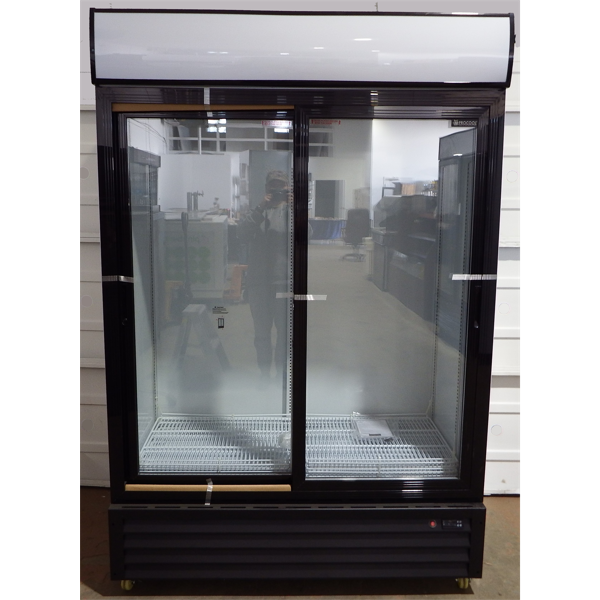 New Double Sliding Glass Door Cooler