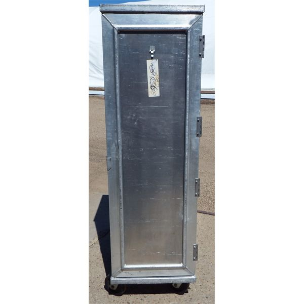 Used 20 Tray Rolling Pan Rack Cabinet on Casters