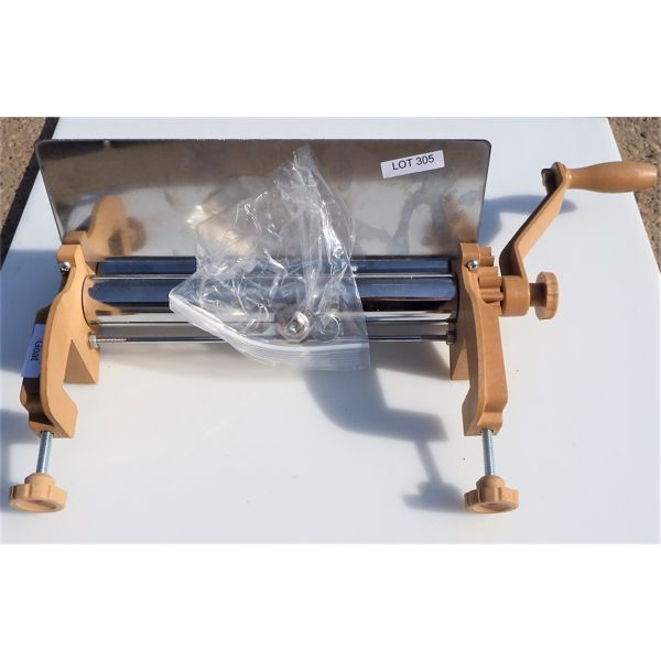 "New - 12.5"" Manual Dough Sheeter"