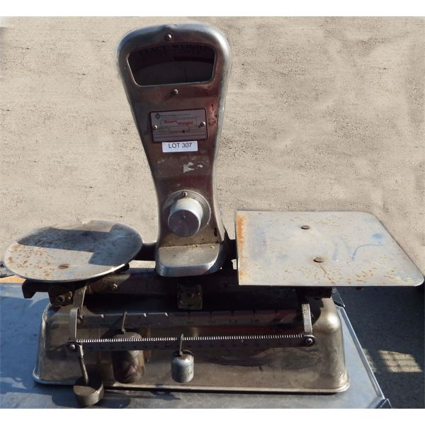 Used - Exact Weight 6kg Manual Scale Model #8030