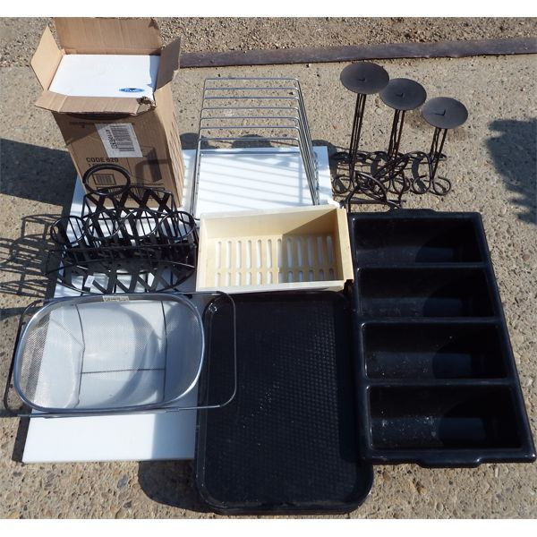 New and Used - Lot of  Miscellaneous Restaurant Items
