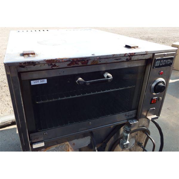 Used - Doyon Countertop Jet Air Oven Model #JA3MC3