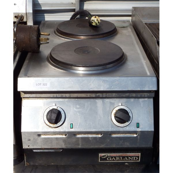 Used - Garland Countertop Double Element Hotplate