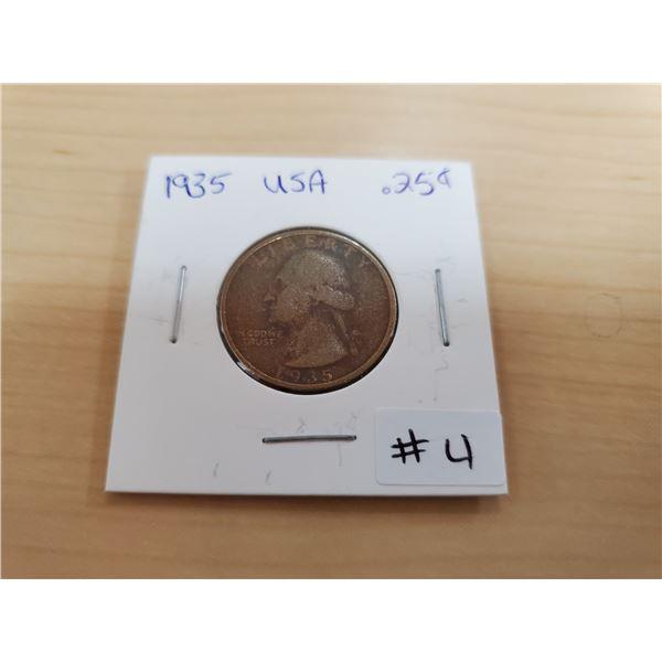 1935 USA quarter