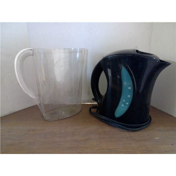 Kettle and Brita Pitcher