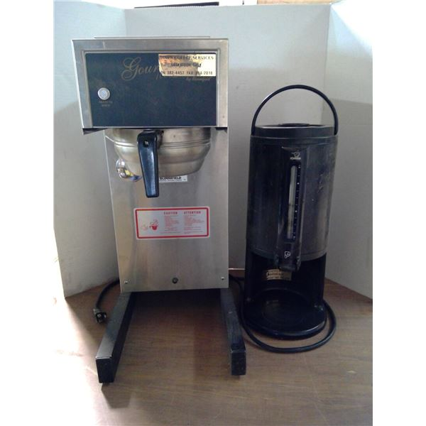 Coffee Maker and Canister for Serving