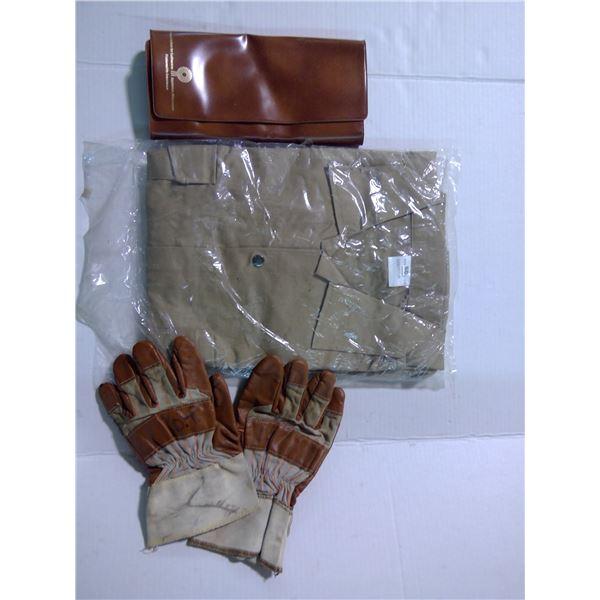 Men's Coveralls, Tool Organizer, Work Gloves