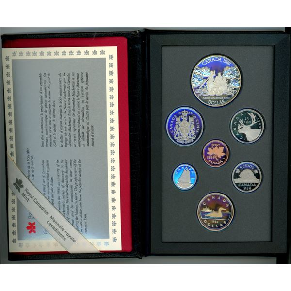 1989 Double Dollar Royal Canadian Mint Proof Set
