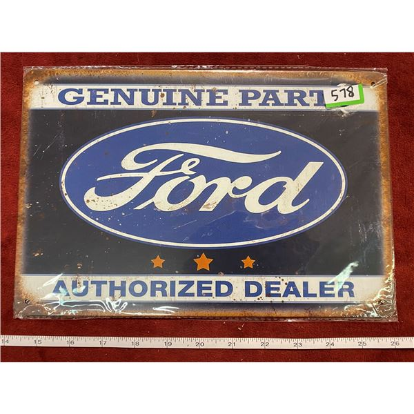 """""""Ford"""" Tin Sign"""
