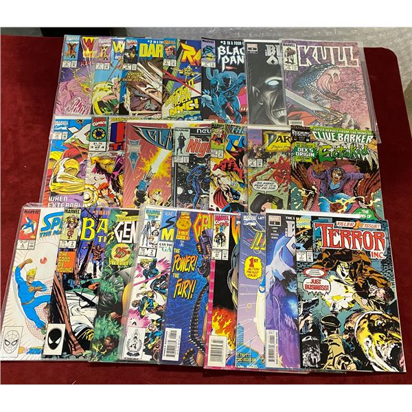 25 Marvel Comics
