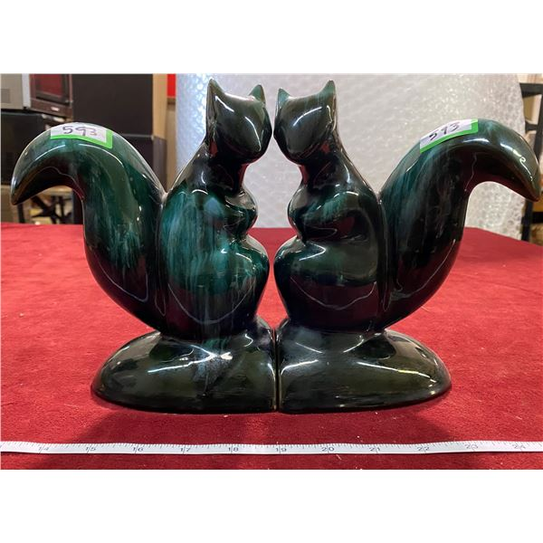 BMP Squirrel Book Ends