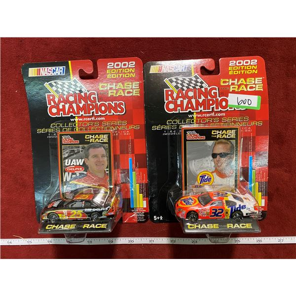 2 Nascar racing Champions
