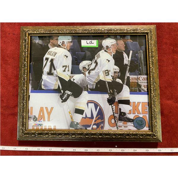 Crosby + Malkin Penguins