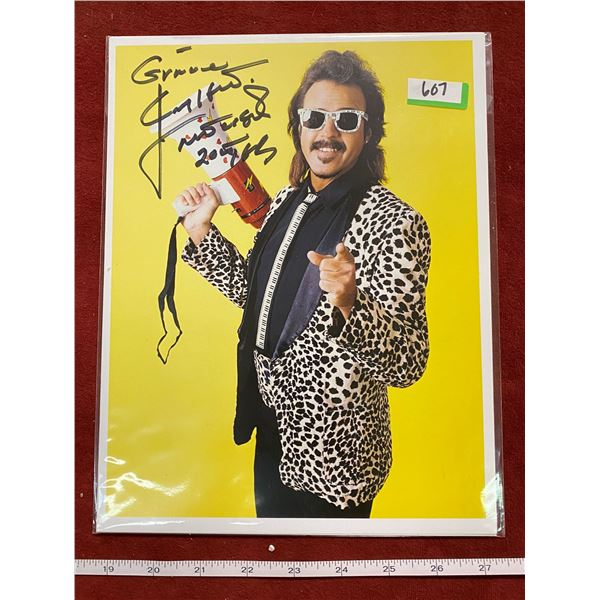Jimmy Hart Mouth Of The South (Signed)