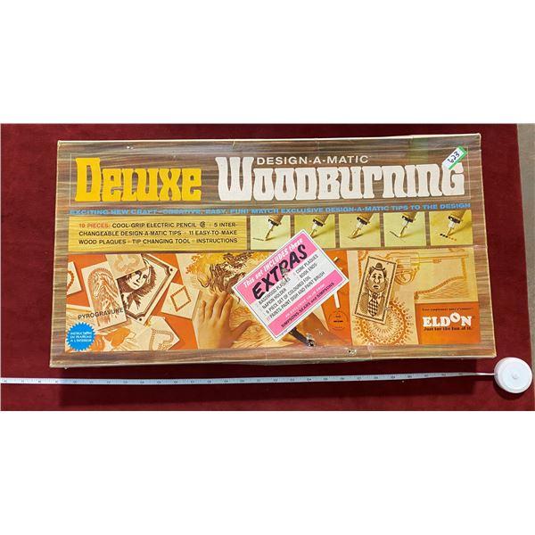 Deluxe Woodburning Kit (Vintage)
