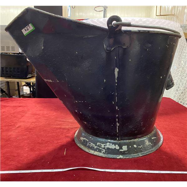 Coal Bucket + Shovel Used For Plants