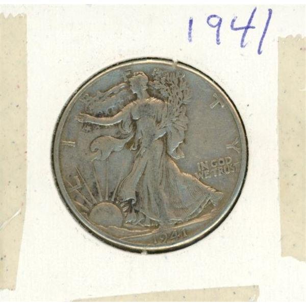 US Half Dollar 1941