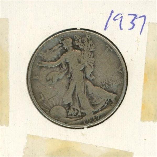 US Half Dollar 1937
