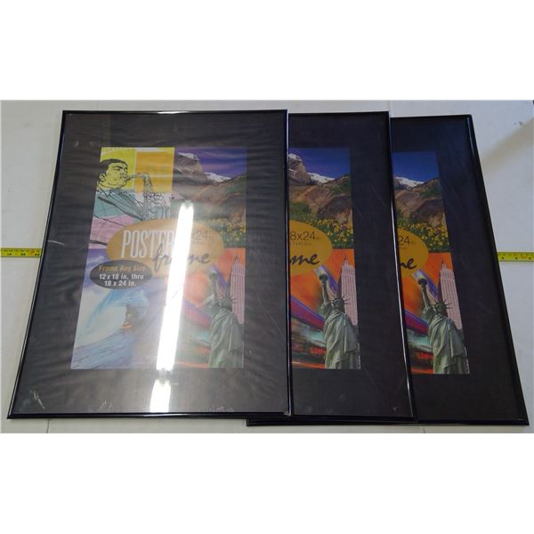 3 - Picture Frames…see pics for dimensions