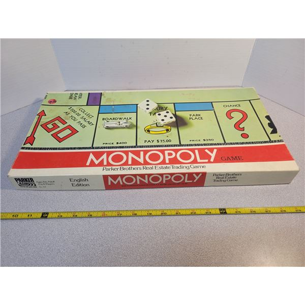 Monopoly game - complete