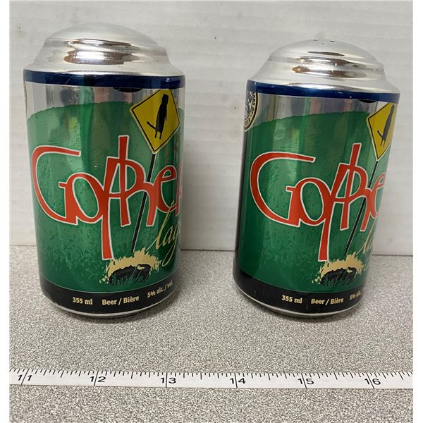 Gopher lager beer salt & pepper