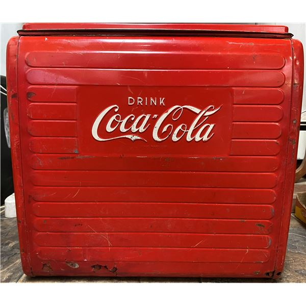 Coca-Cola cooler - Made by St. Thomas signs (Canada)