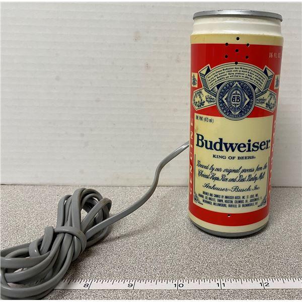 Vintage Budweiser beer can phone