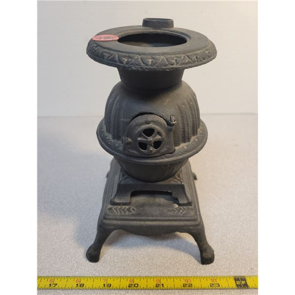 """Cast iron cook stove 8"""" tall"""