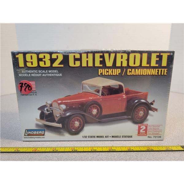 unopened '32 Chev pickup model