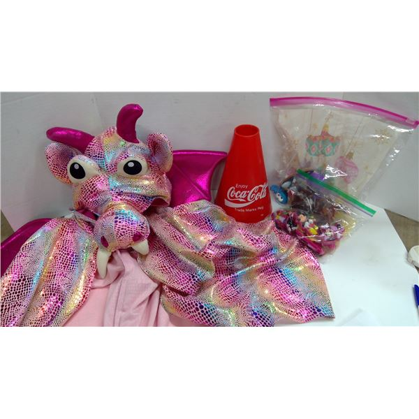 Suction Cup Toys, Dragon Costume, Coca Cola Collectables