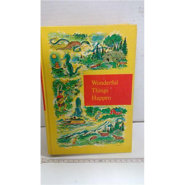 """Vintage """"Wonderful Things Happen Book"""""""