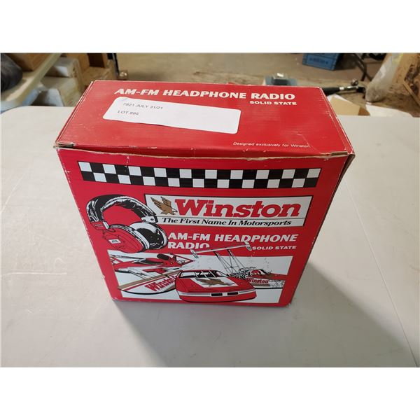 VINTAGE WINSTON AM/FM HEADSET