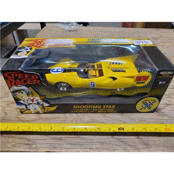 1/18 SPEED RACER SHOOTING STAR DIE CAST CAR