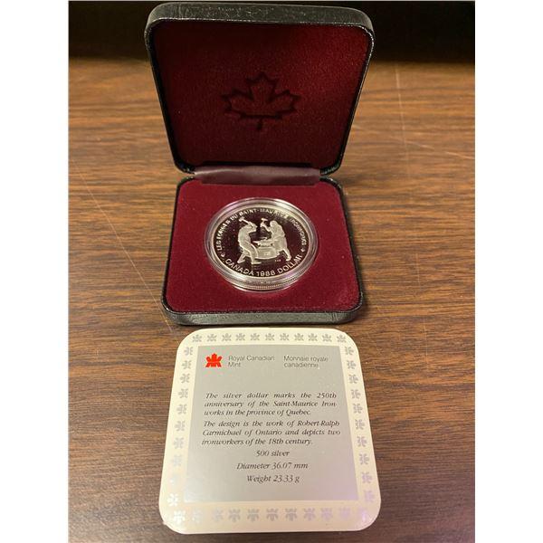 1988 Canada .500 silver dollar