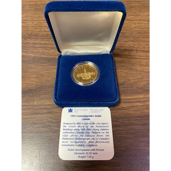 1992 Commemorative dollar Canada
