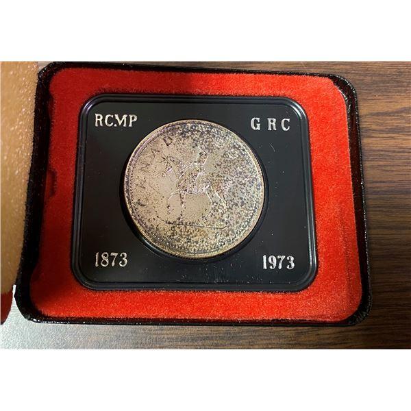 1873-1973 RCMP Canada dollar