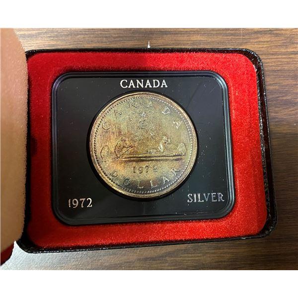 1972 Canada silver dollar