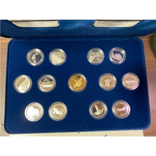 1992 Commemorative 25 cents 25¢ Alberta