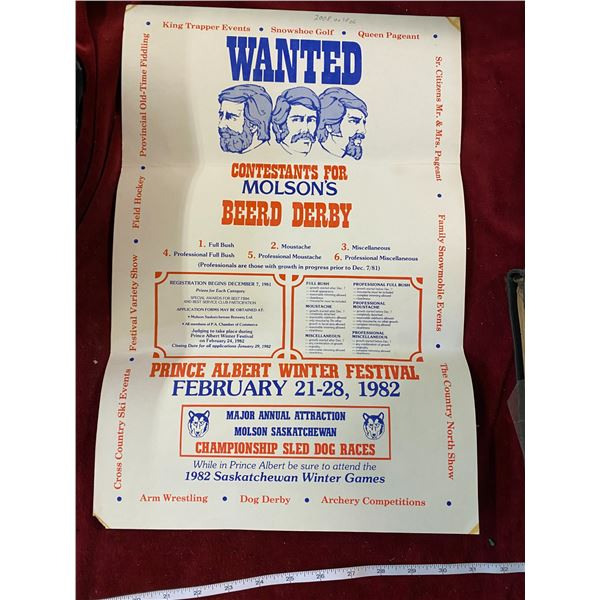 1982 Prince Albert Winter Festival Poster