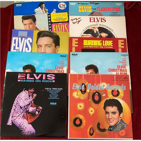 Lot Of 10 Elvis Albums