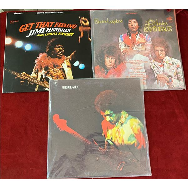 Lot Of 3 Jimmy Hendrix Albums
