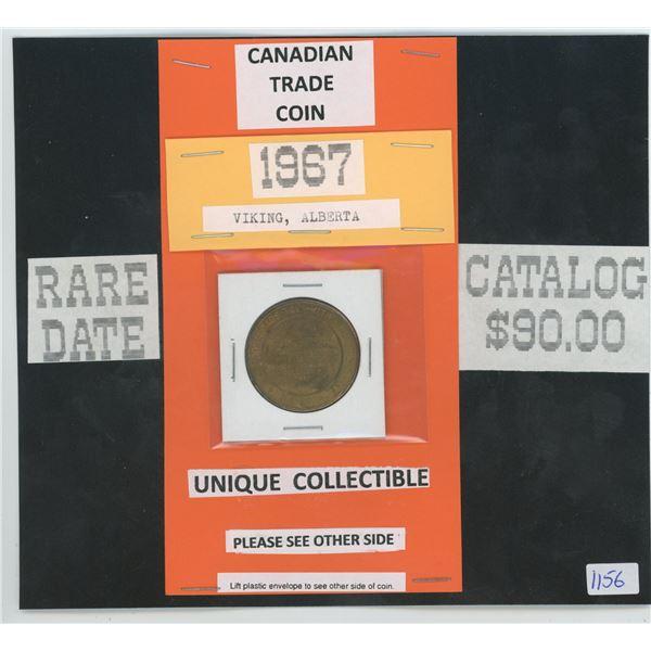 1967 Viking Alberta Trade Coin