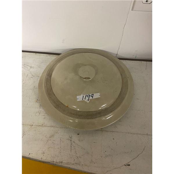 5 gallon crock lid -chip on knob