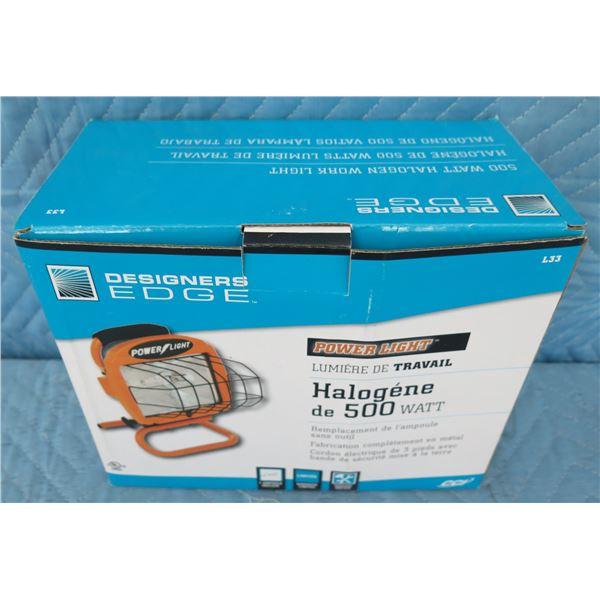 Southwire 133 Halogen Flood Light 500 Watts New in Box